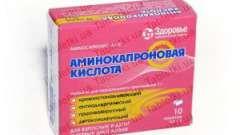 Амінокапронова кислота при аденоїдах