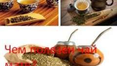 Чим корисний чай мате?