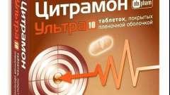 Цитрамон: підвищує або знижує тиск?