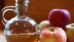 Яблучний оцет при варикозі