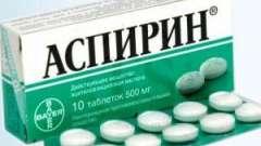 Маска від прищів з аспірином