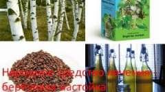 Народний засіб лікування - березова настоянка