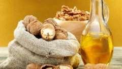 Корисні властивості олії волоського горіха