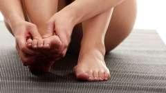 Швидко зняти судоми пальців ніг: поради фахівців