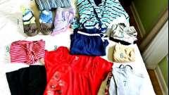 Сумка в пологовий будинок для мами і малюка: список речей