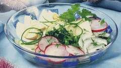 Весняний салат